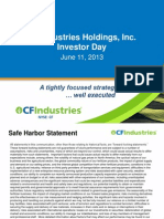 CF Industries Investor Day 11 Jun 2013