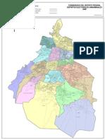 lÍMites Distrital Local Delegacional Seccional Condensado Del Distrito Federal