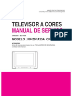 3783468 LG Manual de Servicio TV RP29FA35A