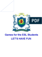 Games in the ESL Class (Over 100 Games)