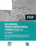 Delivering Transformational Change 2011-21_ Implementing the CARICOM 'Regional Framework for Achieving Development Resilient to Climate Change'