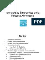 Tecnologas Emergentes en La Industria Alimentaria 1