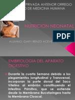 Nutrición Neonatal fgf