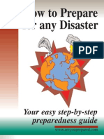 How to Prepare for Any Disaster