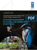 UNISDR UNDP Ecosystem Management of Coastal and Marine Areas in South Asia