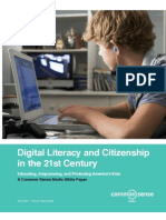 Digital Literacy and Citizenship in the 21st Century