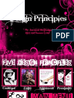 design principle assignment