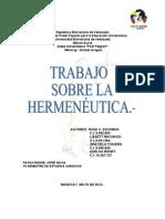 Trabajo Hermeneutica Vii Jose Silva Proyecto