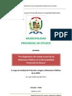 Informe RRPP de La MPO