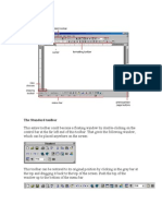 The Standard Toolbar