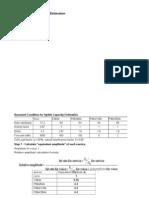Case-Uplink Capacity Budget