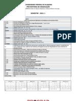 Calendário Acadêmico - Arapiraca Delmiro - DEFINITIVO - SECS-1