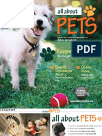 All About Pets August 2013