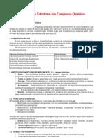 Característica Estrutural dos Compostos Químicos