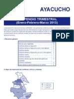 Compendio Ayacucho Enero - Marzo 2013