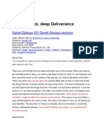 Deep Secret Deep Deliverance