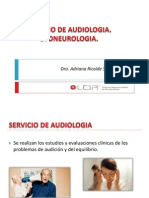 Servicio de Audiologia