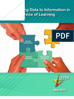 Transforming Data to Information in Service of Learning