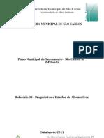 Relatório 3 - Plano Saneamento - Prognostico