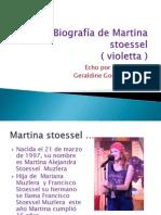 Biografía de Martina stoessel