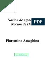 152305706 Ameghino Florentino Nocion de Espacio Y Dios