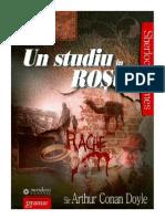 Arthur Conan Doyle - Un Studiu in Rosu [Ibuc.info]