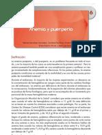 Anemia Postparto
