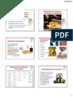 Microorganismos benéficos en la industria alimentaria 2013-1