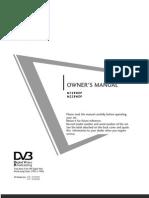 LG M198WDP TV User Manual