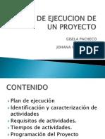 Plan de Ejecucion de Un Proyecto