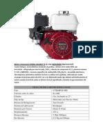 Motor Estacionario HONDA GX160K1 T1