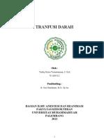 Referat Tranfusi Darah Opik