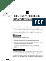 28_India and Its Neighbours _ China, Pakistan and Sri Lanka (181 KB)