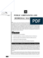 36_Public Grievances and Redressal Machinery (89 KB)