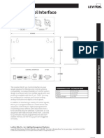 Product Specification Bulletin if 501 CONTROL INTERFACE