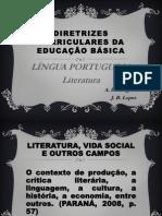 Diretrizes Curriculares Literatura (Ceny e Jeze)
