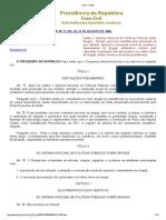 06 - LEI Nº 11.343 - Sistema Nacional de Políticas Públicas sobre Drogas