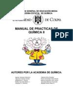 Manual de Prácticas Quimica II (2012)