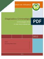 DIAGNOSTICO Criminologico