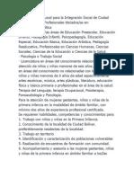 secretaria para la integración empleos, ciudad bolivar