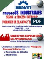 2011 - Ciclo i -Sesion 14 - Silicatos y Electrol