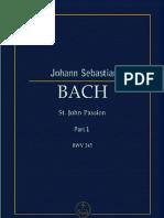 St John Passion Part 1 BWV 245