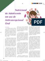 Anticoncepcional e Nutrição