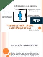Psicología Organizacional inicio
