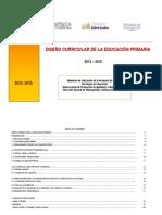 Diseño Curricular de la Educ. Primaria 2012-2015