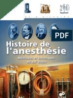 Zimmer Marguerite - Histoire de l'anesthésie