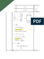 Rectangle Beam Design Spreadsheet