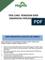 Tata Cara Pengisian Data Swapantau Perusahaan