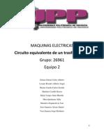 Maquinas Electricas Practica
