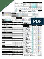 D&D 3e Character Sheet